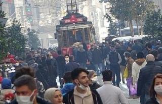 Güneşi gören Taksim'e akın etti, sosyal mesafe...