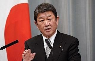 Japonya Dışişleri Bakanı Motegi'den Myanmar...