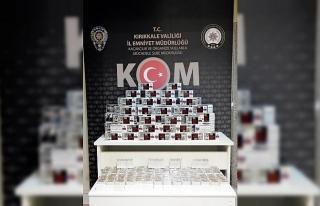 Kırıkkale'de kaçak tütün operasyonu: 29 bin...