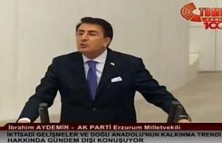 "Milletvekili Aydemir: ""'Doğunun makus talihi'..."