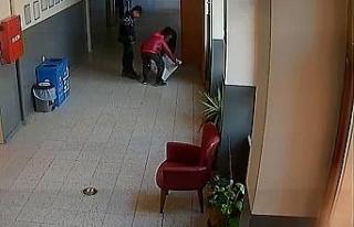 Okulda saklanan 3 çocuk, paraları alıp örümcek...