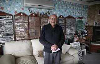 (Özel) 79 yaşındaki gurbetçiden ilginç koleksiyon