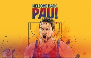 Pau Gasol 20 yıl sonra Barcelona'da