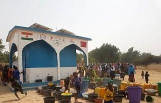Türkiye Diyanet Vakfı Nijer'de 15 su kuyusu açtı