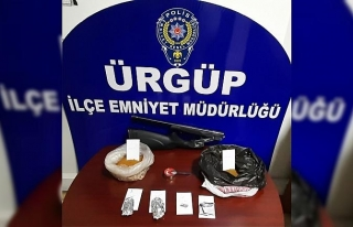 Ürgüp'te uyuşturucu taciri 1 kişi tutuklandı