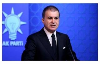 AK Parti Sözcüsü Çelik: Bu ırkçı ve faşist...