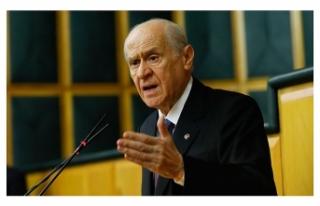 Bahçeli: İsrail hükümetini lanetliyorum