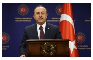 Bakan Çavuşoğlu: Yaşanan vahşetin tek sorumlusu...