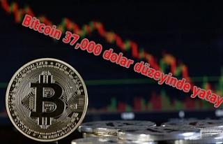 Bitcoin 37,000 dolar düzeyinde yatay