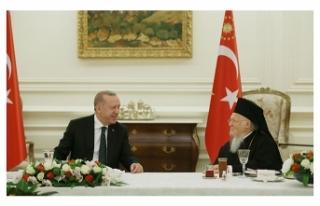 Cumhurbaşkanı Erdoğan, azınlık cemaat temsilcileriyle...