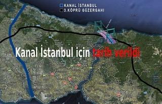 Cumhurbaşkanı Erdoğan Kanal İstanbul için tarih...