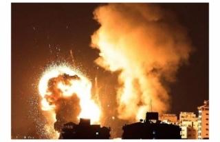 İsrail ordusu Gazze'ye kara harekatı başlattığını...