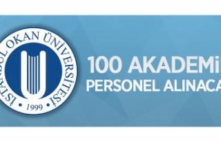 İstanbul Okan Üniversitesi 100 öğretim üyesi...