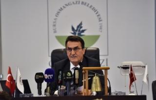 Osmangazi Belediyesi'nden İsrail'e kınama