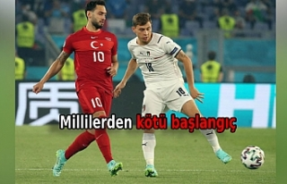 A Milli Futbol Takımı 3 - 0 mağlup oldu