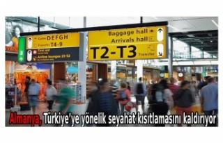 Almanya, Türkiye'ye yönelik seyahat kısıtlamasını...