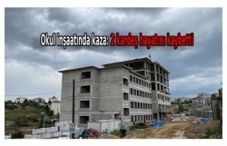 Ankara'da okul inşaatında iskele çöktü:...