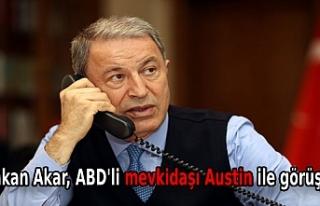 Bakan Akar, ABD'li mevkidaşı Austin ile görüştü