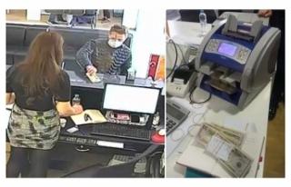 Bankada sahte dolar ile dolandırıcılığa suçüstü