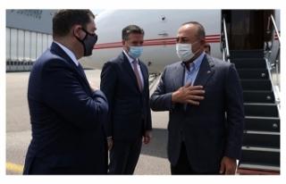 Dışişleri Bakanı Çavuşoğlu, mevkidaşının...