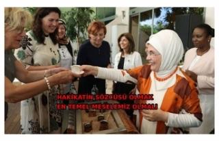 Emine Erdoğan: Dünyada sevginin dilini hakim kılmak...