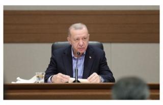 Erdoğan: Bunu gündeme getirmeden geçmeyi doğru...