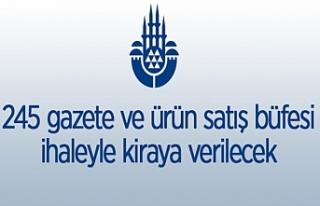 İstanbul Büyükşehir Belediyesine ait 245 adet...