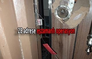 Operasyona gelen narkotik polisleri kapıdaki sahte...