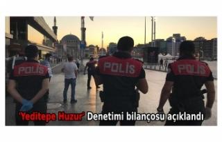 'Yeditepe Huzur' Denetimi bilançosu açıklandı:...