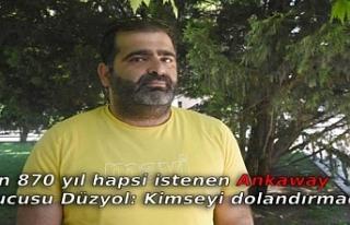 4 bin 870 yıl hapsi istenen Ankaway kurucusu Düzyol:...