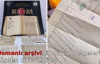 Osmanlı arşivinin kayıp belgeleri çöpten çıktı...