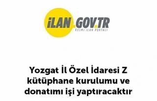 Yozgat İl Özel İdaresi Z kütüphane kurulumu ve...