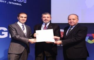 UR-GE projesine, iyi uygulama ödülü