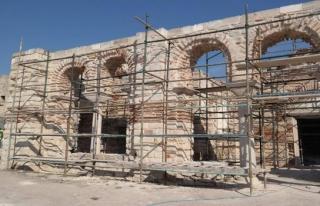 Tarihi Enez Camisi ibadete açılacak