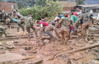 Kolombiya'da yağmur korkusu