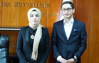 Yeşil Bursa'nın genç kaymakamı