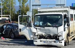 Kavşakta feci kaza: 1 Ölü
