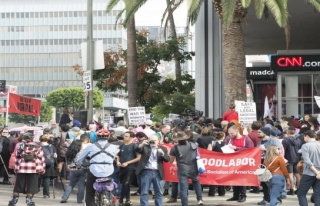 ABD'de cinsel taciz protestosu