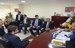 Salman'dan MHP'ye ziyaret