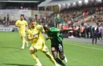 Denizlispor Fenerbahçe maçından kareler