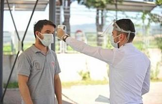 Çilek Mobilya, koronavirüse karşı üst düzey önlem aldı