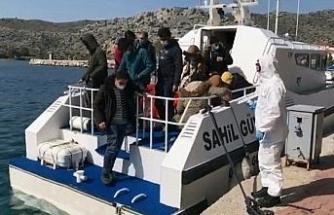 12 göçmen kurtarıldı