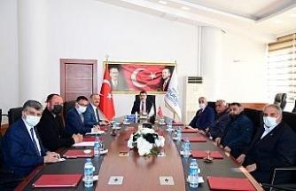 Muhtarlardan Başkan Gürkan'a ziyaret