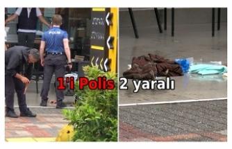 Arbedede silah patladı: 2 kişi yaralandı