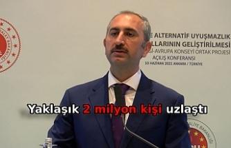 Bakan Gül: Uzlaştırmacı için hukuk fakültesi mezunu şartını getireceğiz