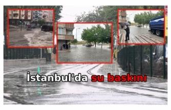 İstanbul'da 17 noktada su baskını yaşandı: En fazla yağışı Şişli ve Hadımköy Mahallesi aldı
