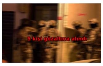 İstanbul'da PKK operasyonu: 5 gözaltı