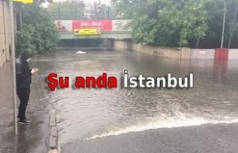 Meteoroloji'nin uyarısının ardından İstanbul'da kuvvetli yağmur