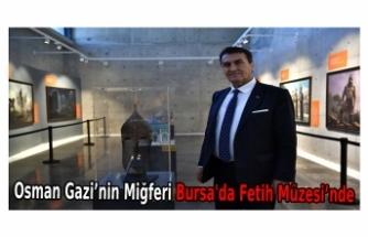 Osman Gazi'nin Miğferi Bursa'da Fetih Müzesi'nde