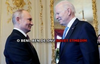 Putin: Katil ifadesi sonrası Biden beni aradı ve açıklamasından tatmin oldum